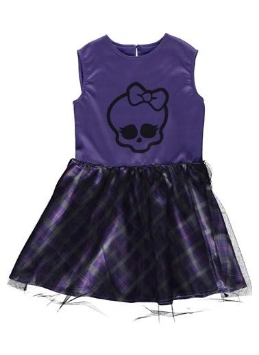Monster High Elbise Mor